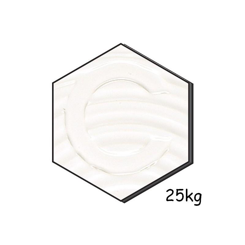AOM 6222 BLANC Email Satiné-Opaque 25kg