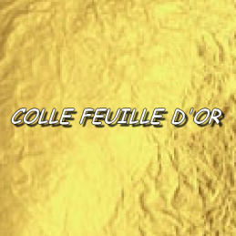 COLLE POUR FEUILLE D'OR - 50ml