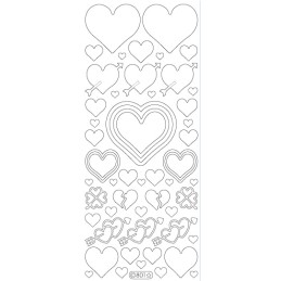 STICKER COEUR BRISE 801
