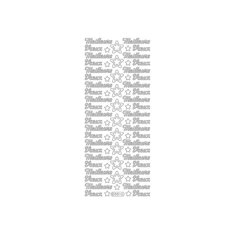 STICKER MEILLEURS VOEUX 551