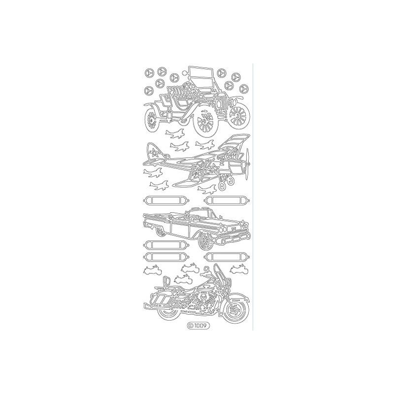 STICKER VOITURE/AVION 1009