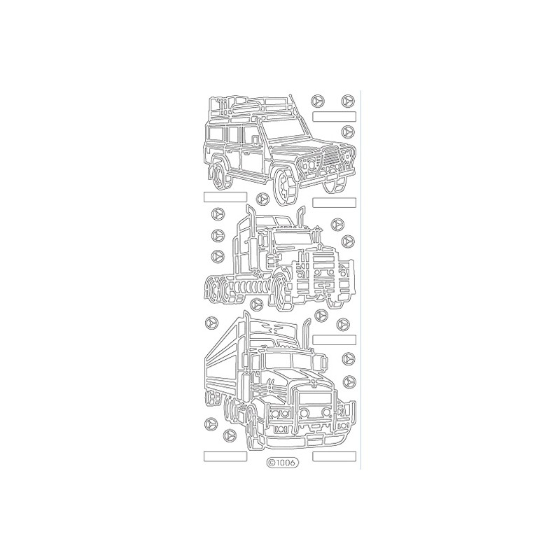 STICKER CAMIONS 1006