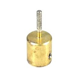 SCHLEIFSTEIN BOHLE DURCHMESSER 3mm NARBUNG STANDARD