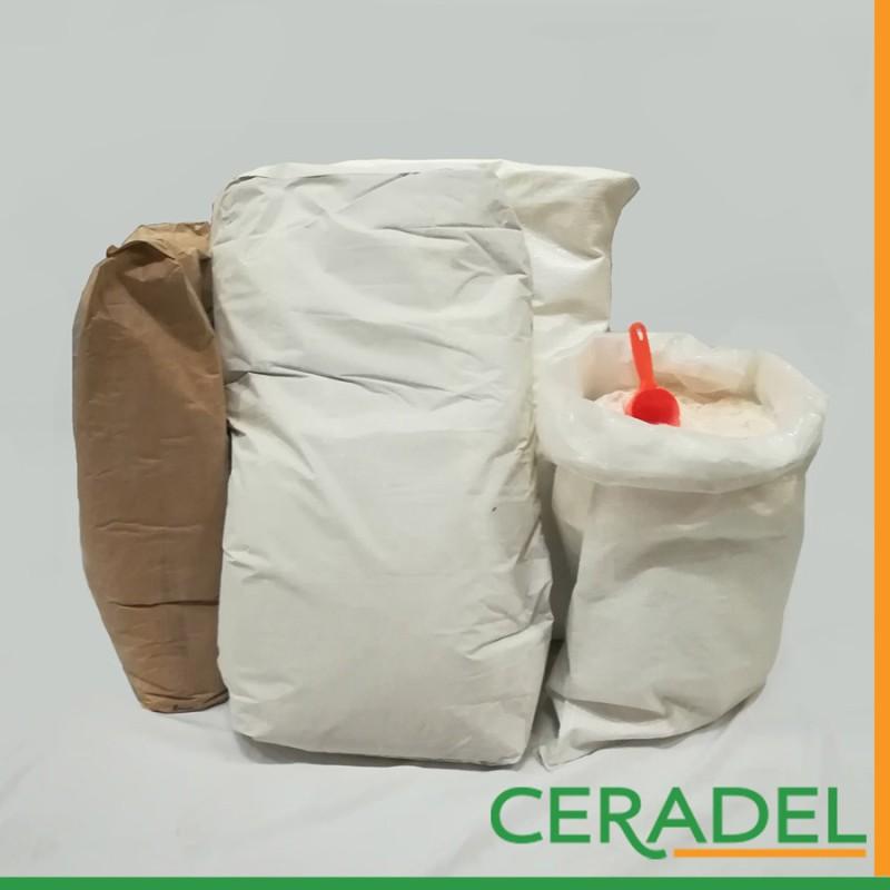 CHAMOTTE BLANCHE 0 A 1.5 MM sac de 25KG