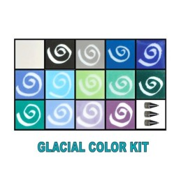 GLASSLINE KIT 14 COULEURS GLACIAL/GA34