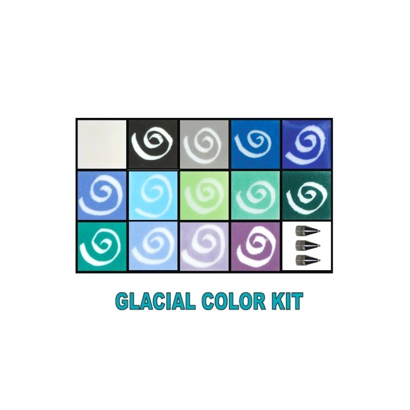 GLASSLINE KIT 14 COULEURS GLACIAL/GA34