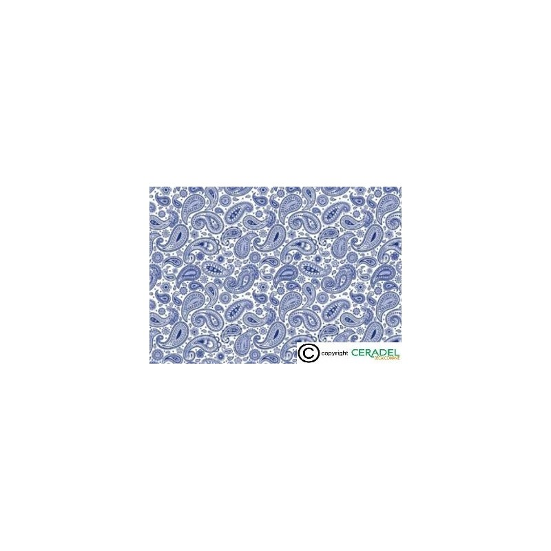 CACHEMIRE BLUE DIM.50X70