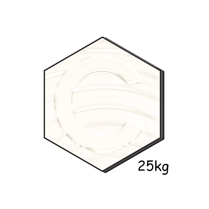 CB 2 BLANC ZIRCON Email Brillant-Opaque 25Kg