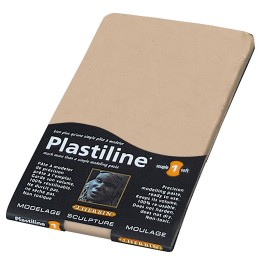 Plastiline 780gr en plaque Rose Naples/Souple