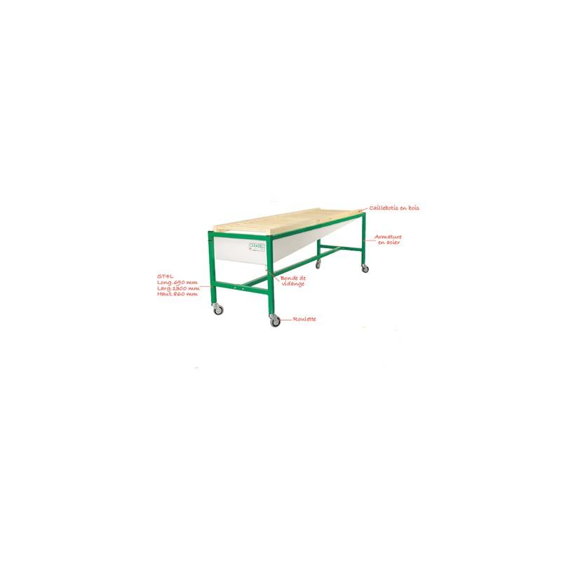 TABLE DE COULAGE ST4L (0.8X1M)