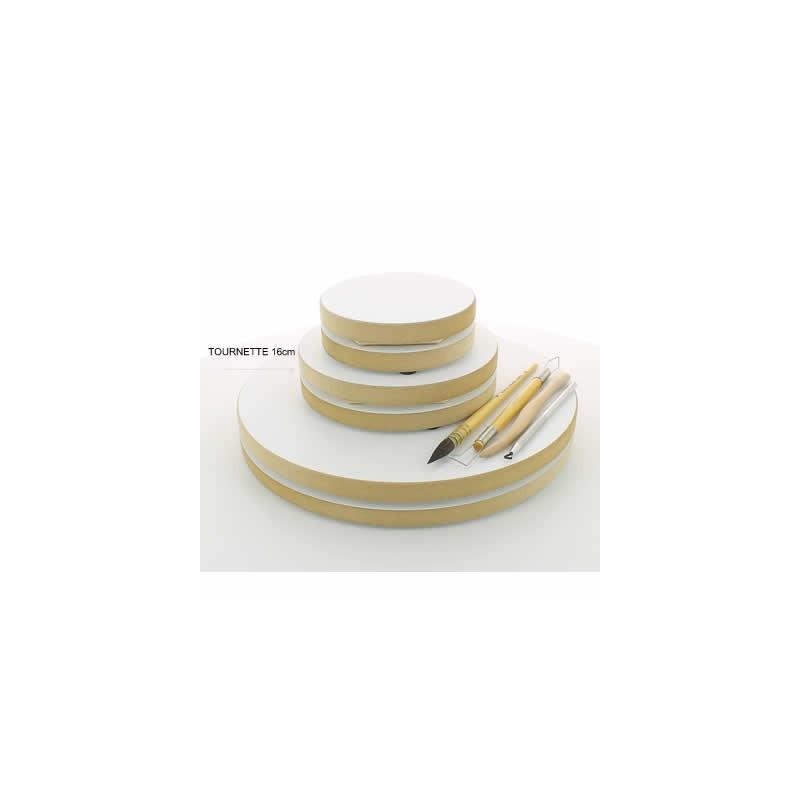 TOURNETTE BOIS DIAMETRE 160mm