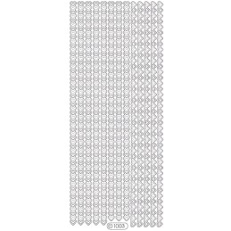 STICKER PETITS COEURS 1003