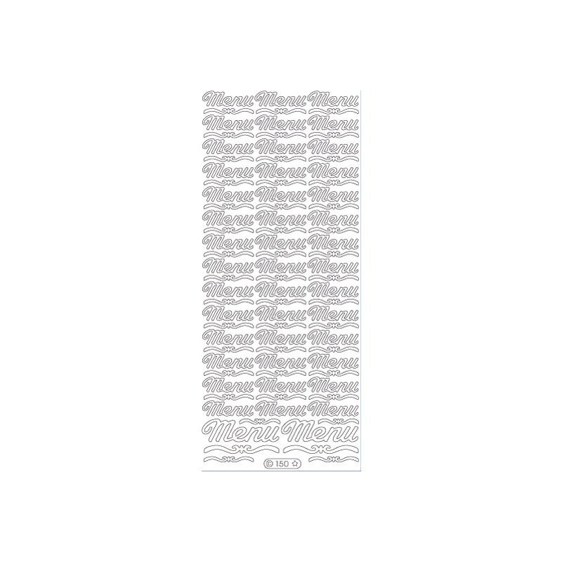 STICKER MENU 150