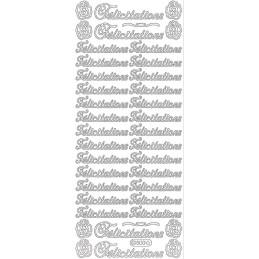 STICKER FELICITATIONS 500