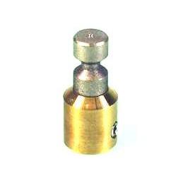 SCHLEIFSTEIN BOHLE DURCHMESSER 10mm NARBUNG FEIN