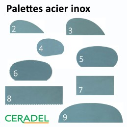 PALETTE ACIER INOX - Série P