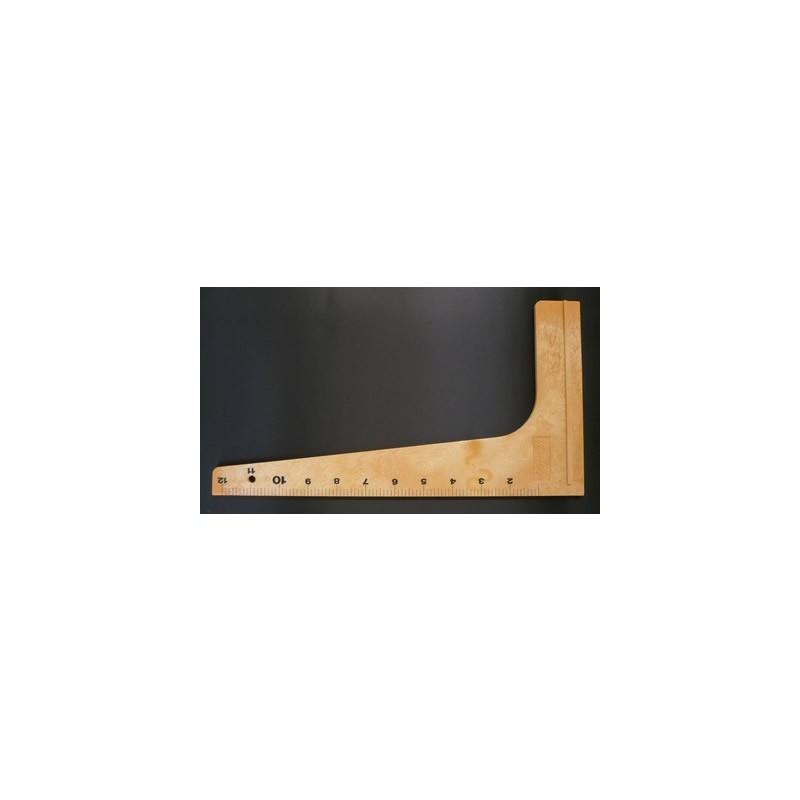 EQUERRE PLASTIQUE DIM.33cm
