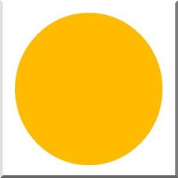 CERA 213 JAUNE ORANGE Opaque Sans Pb