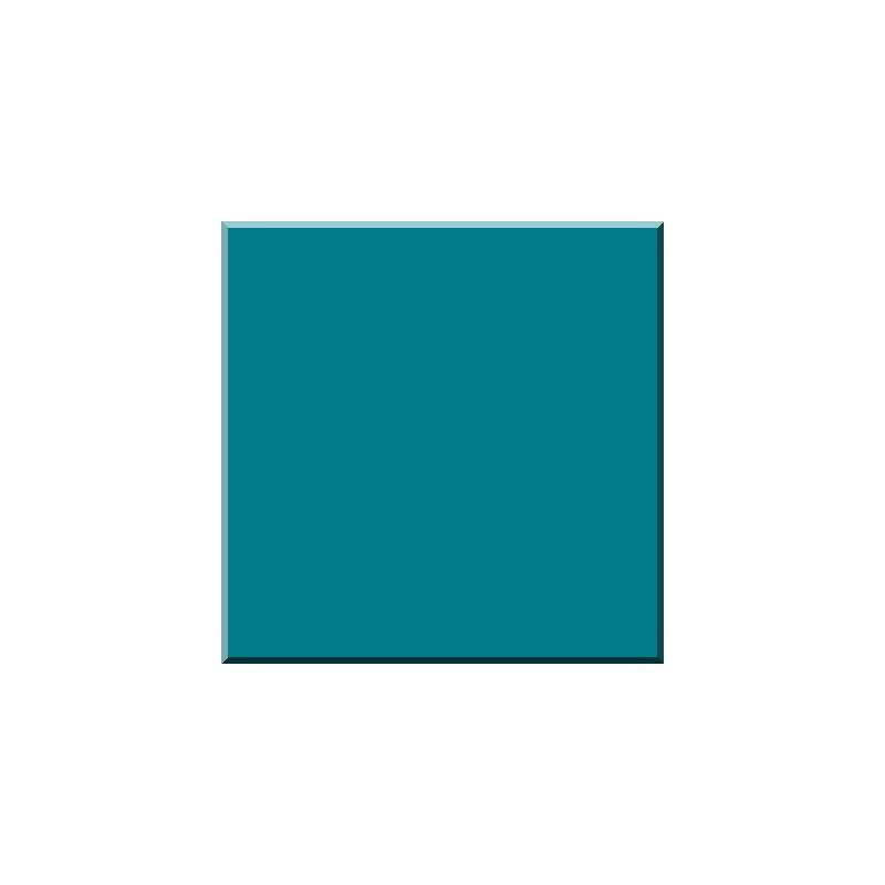 F 1273 BLEU LAGOND Email Transparent-Verre 600°C