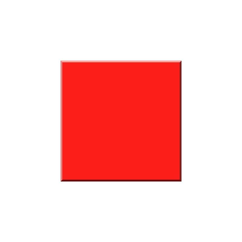 F_7069 ROUGE VERMILLON Email Opaque-Verre 600°C