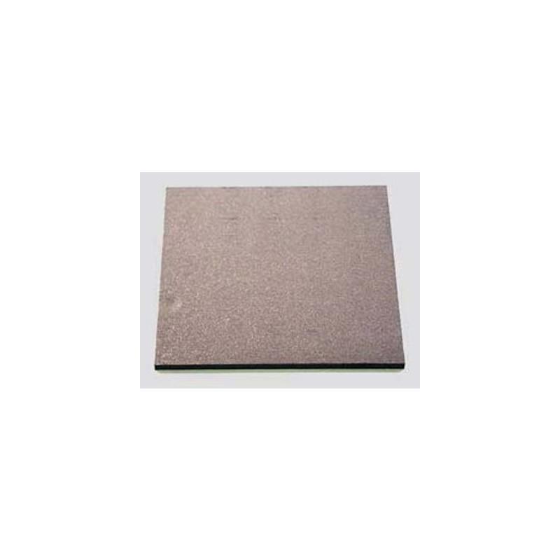 PLAQUE GRAPHITE DIM.15X15X0.5cm