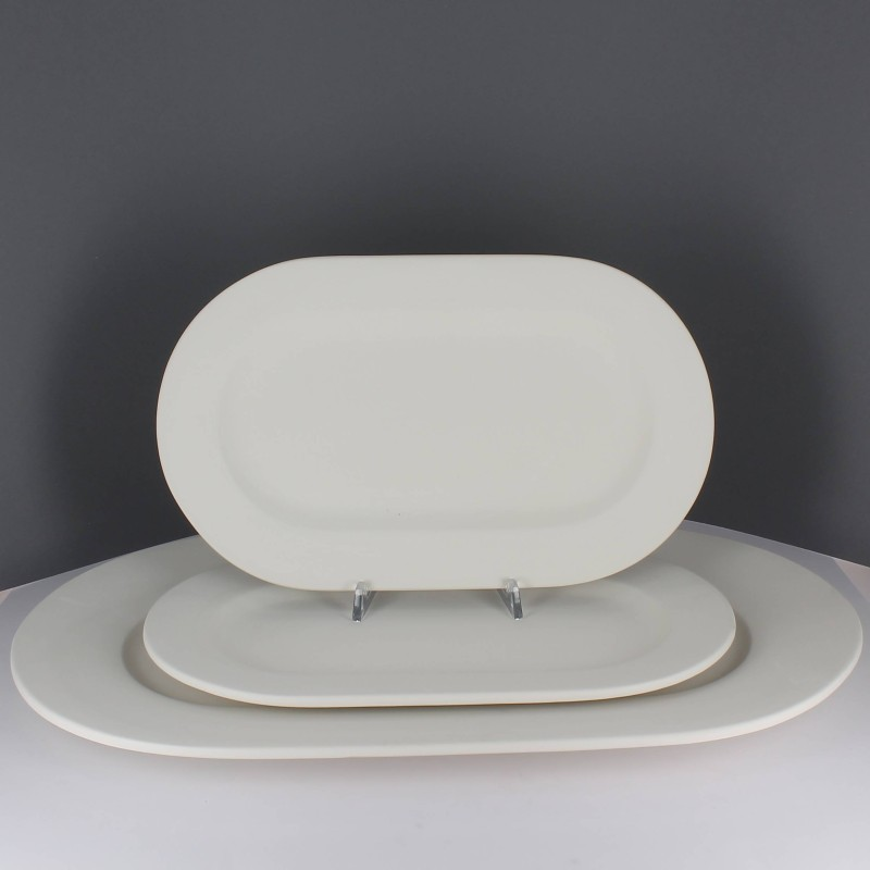 BISCUIT PLAT OVAL AILE 45