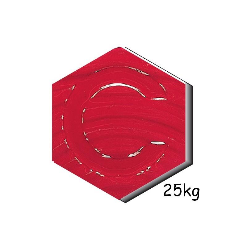 E_122 ROUGE CARMIN (CRAQUELE) 25 Kg