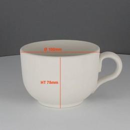 BISCUIT TASSE CAFE LATTE (Ø10CM) H7.5CM