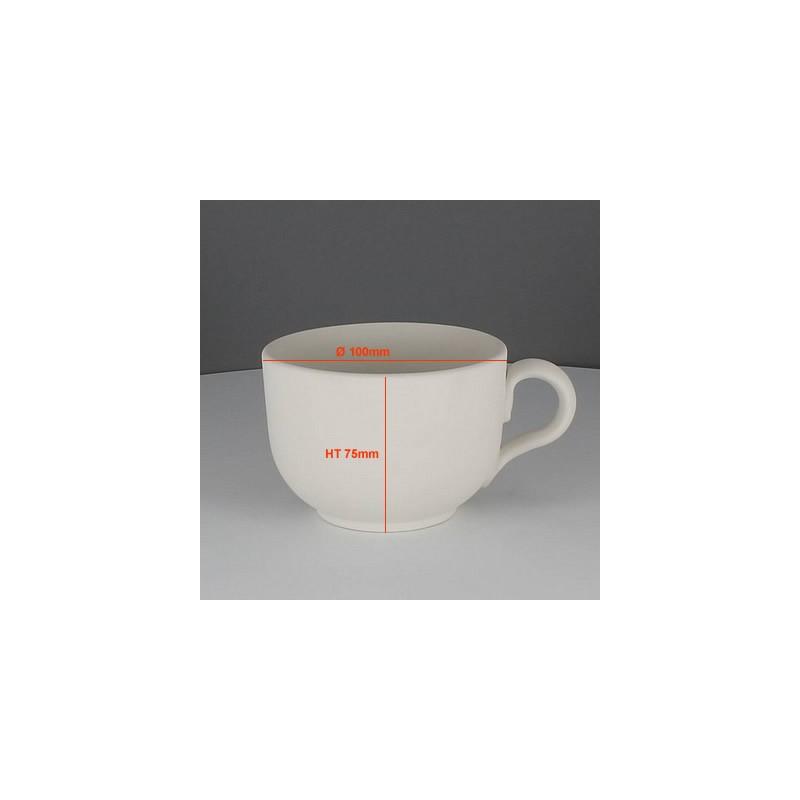 BISCUIT TASSE CAFE LATTE (Ø10CM) HT 7.5CM