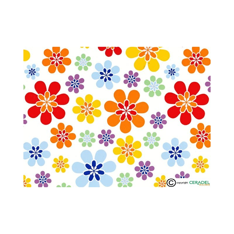 FLOWER POWER GM DIM.50X70
