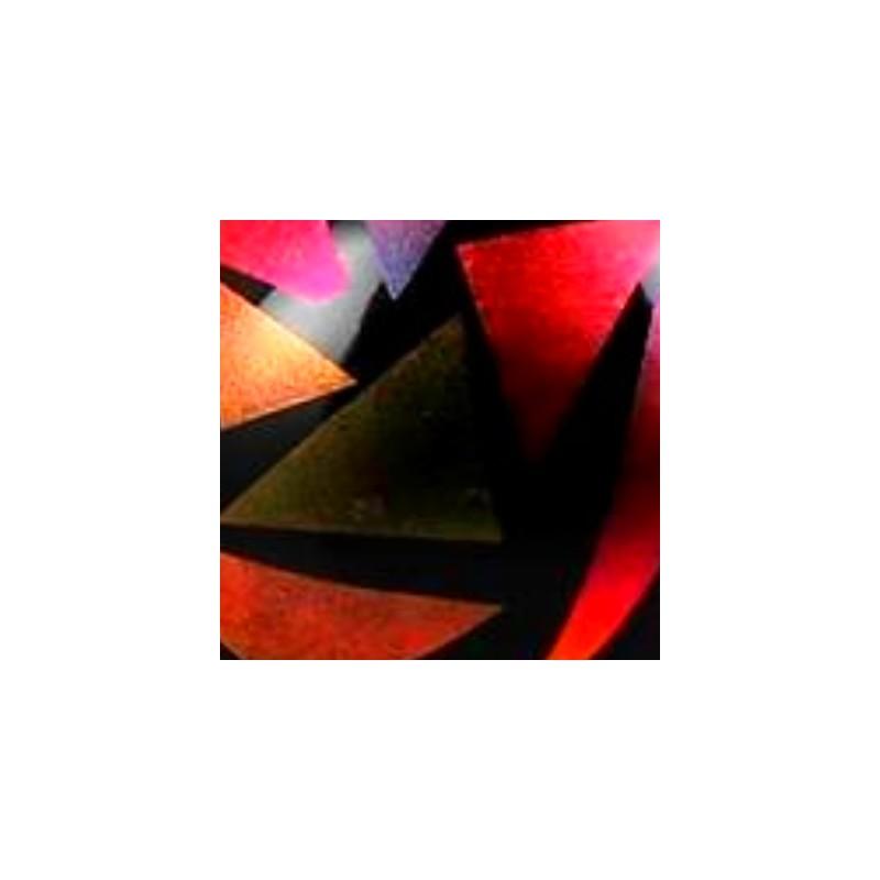 CHROMO DICHRO CLAIR-ROUGE DIM.10X10cm