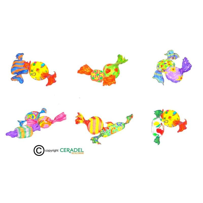 BONBONS DOUBLES Série de 6 Motifs