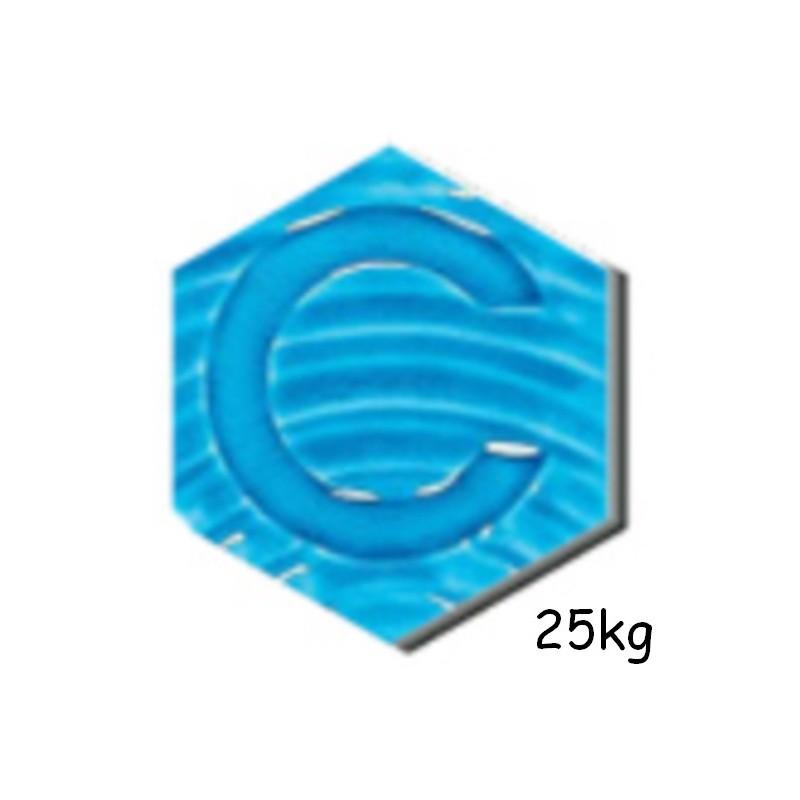 B3.210 BLEU EGYPTIEN CRAQUELE 25 kg