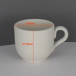 BISCUIT TASSE CAFE EXPRESSO (Ø6CM) H5.5CM