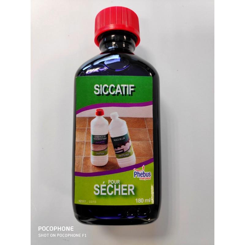 SICCATIF pour huile de lin 180ml