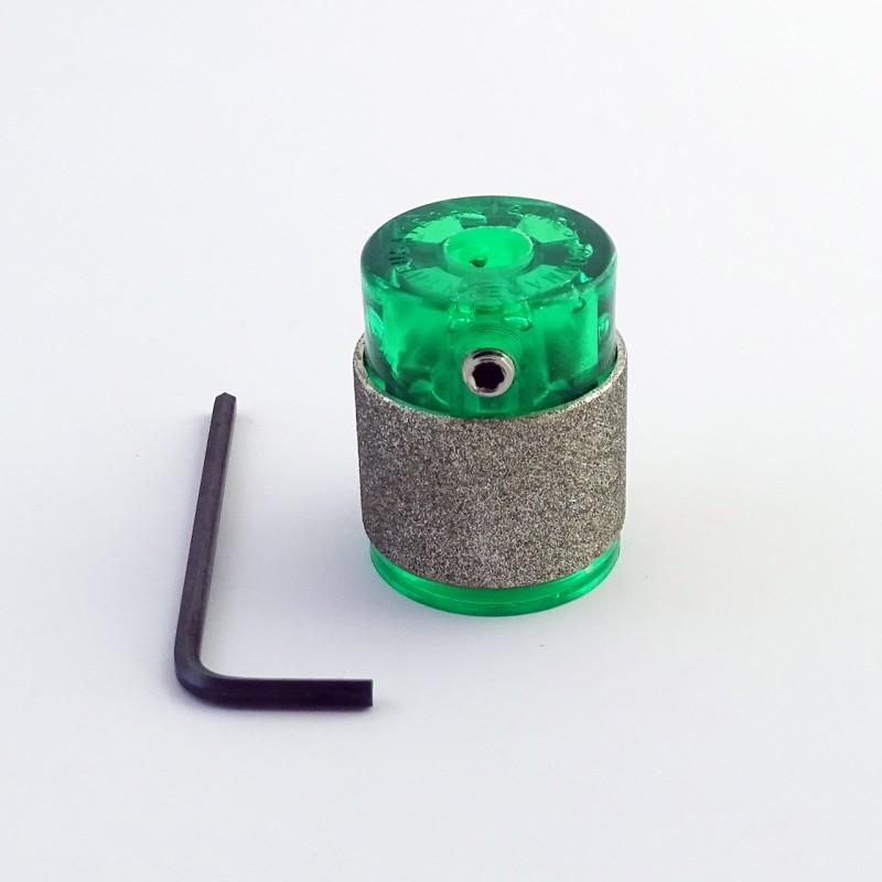 Meule Diam.25mm VERT grain standard