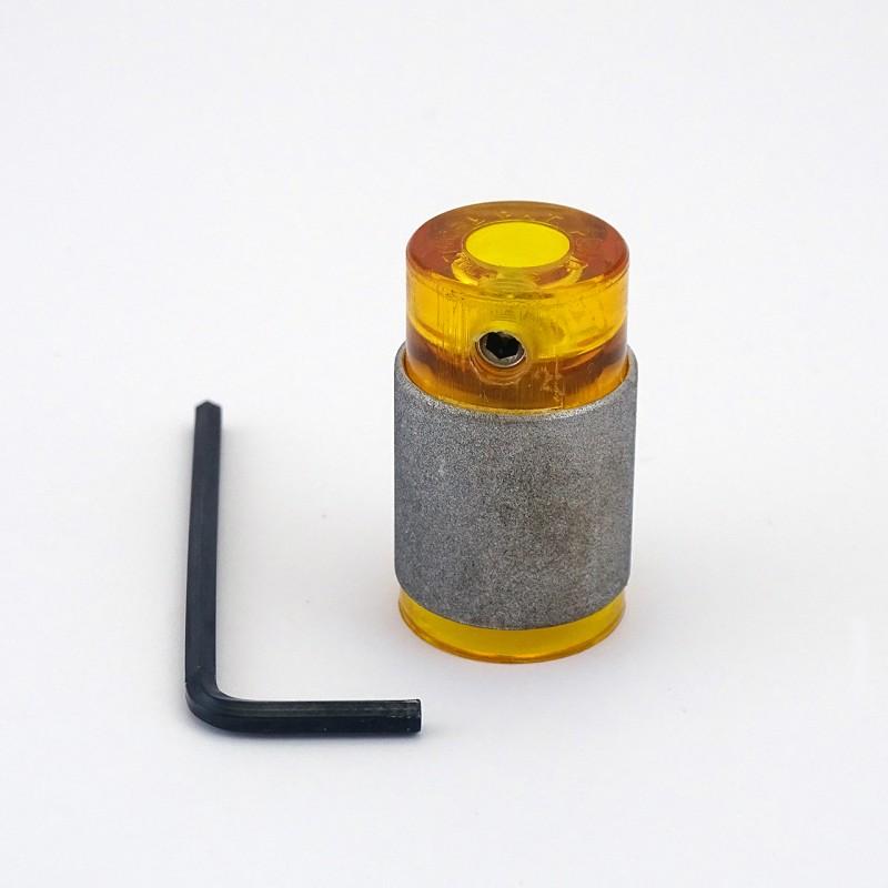 Meule Diam.19mm JAUNE grain fin
