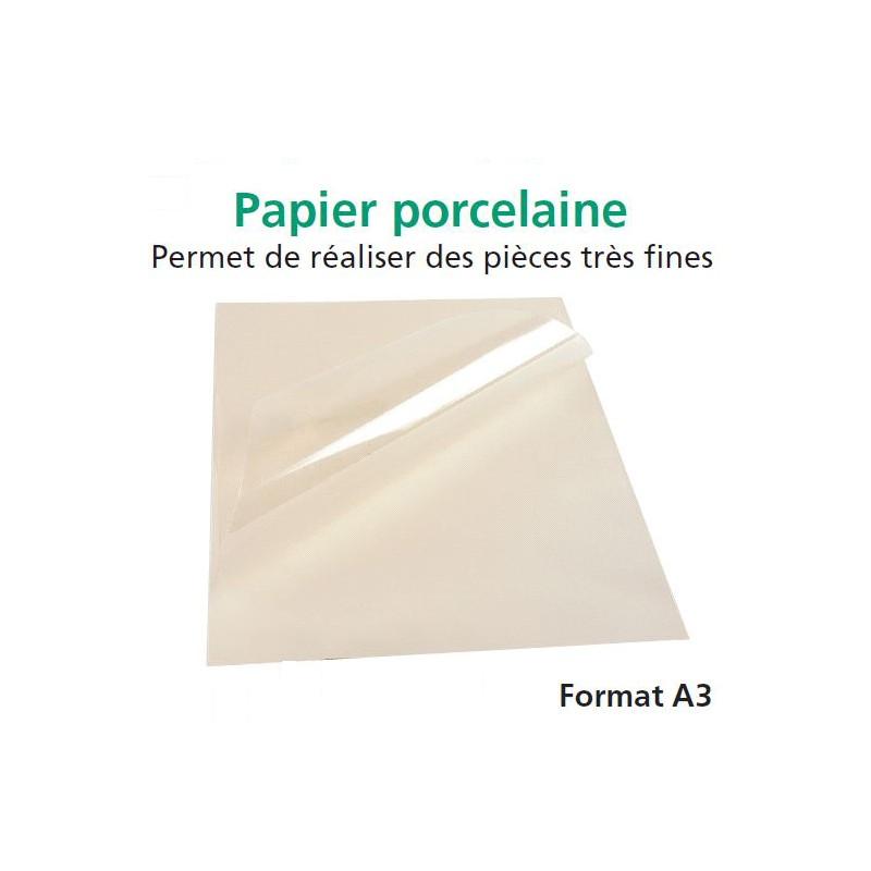 PAPIER PORCELAINE A3