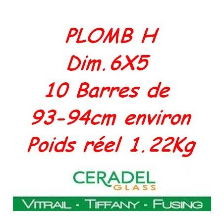 PLOMB H DIM.6X5 Kg**