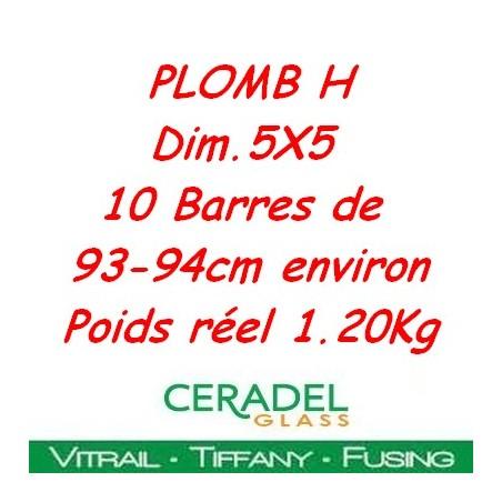 PLOMB H DIM.5X5 Kg**