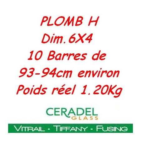 PLOMB H DIM.6X4 Kg**