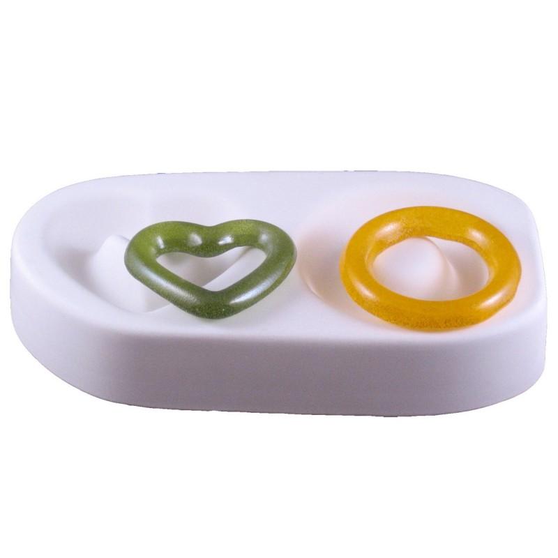 MOULE PDV Coeur et anneau