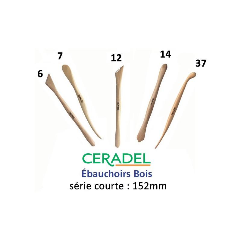 SERIE 5 EBAUCHOIRS BOIS COURTS P60 (6-7-12-14-37)