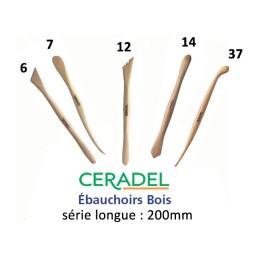 SERIE 5 EBAUCHOIRS BOIS LONGS P61 (6-7-12-14-37)