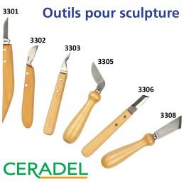 COUTEAUX A SCULPTER LE BOIS PK3300