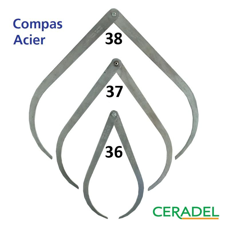 COMPAS ACIER